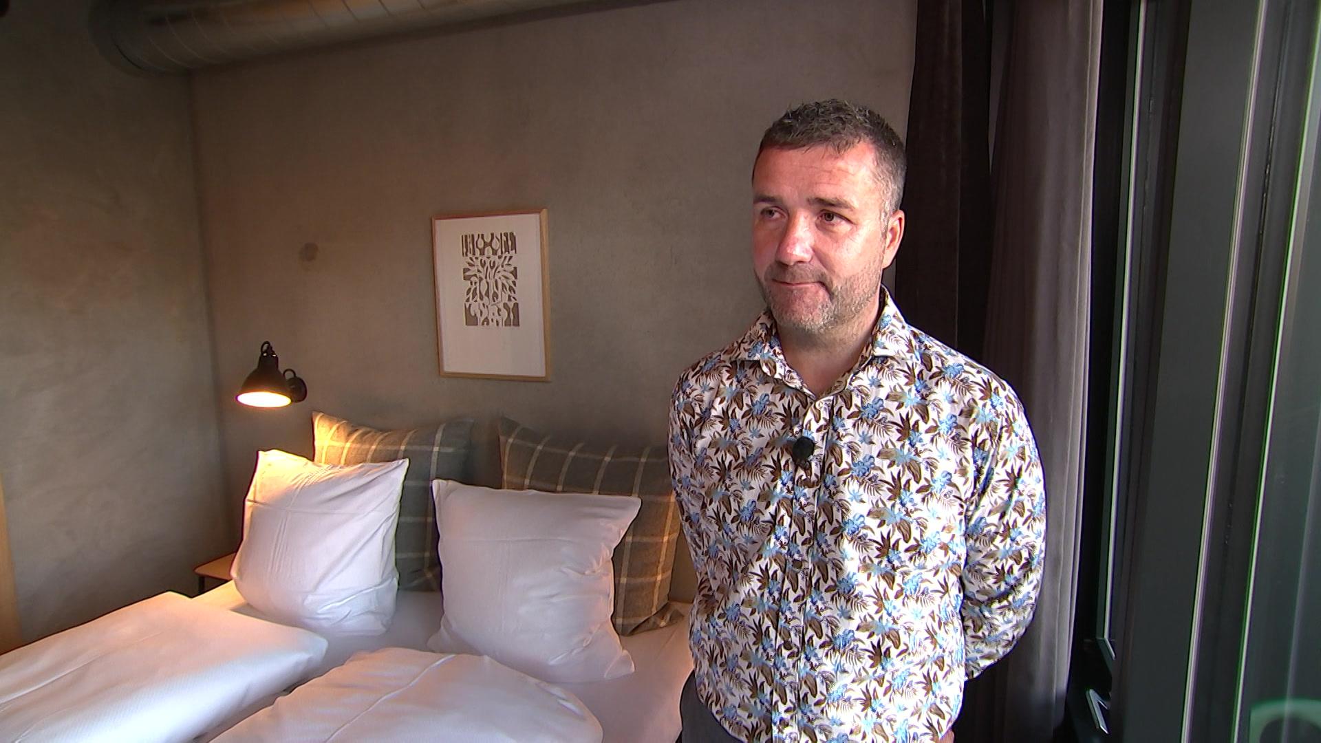 Niels Bonkegaard, direktør, Hotel Guest Apart, Skejby